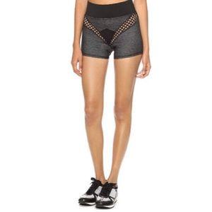 MICHI Sway Shorts - Black Denim